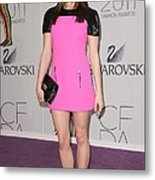 Ashley Greene At Arrivals For The 2011 Metal Print