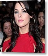 Ashley Greene At Arrivals For The Metal Print