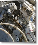 Astronauts Participate Metal Print