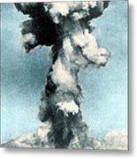 Atomic Bombing Of Nagasaki Metal Print