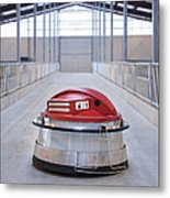 Automated Feed Pusher Metal Print