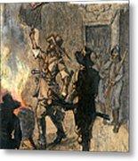 Bacons Rebellion, 1676 Metal Print