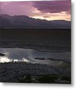 Badwater Basin Death Valley National Park Metal Print