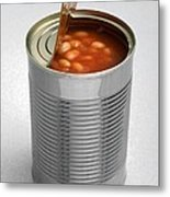 Baked Beans In A Can Metal Print