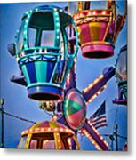 Balloon Ride No. 5 Metal Print by Colleen Kammerer