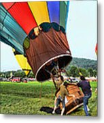 Balloonist - Ready For Takeoff Metal Print
