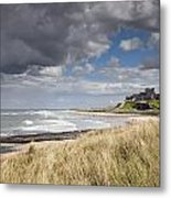 Bamburgh Castle Northumberland, England Metal Print by John Short