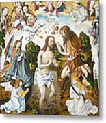 Baptism Of Christ Metal Print