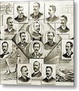 Baseball, 1894 Metal Print