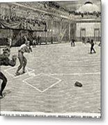 Baseball: Brooklyn, 1890 Metal Print