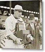 Baseball: Camera, C1911 Metal Print