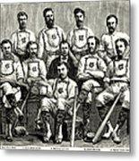 Baseball: Canada, 1874 Metal Print by Granger