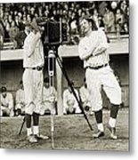 Baseball Players, 1920s Metal Print