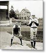 Baseball: Princeton, 1901 Metal Print