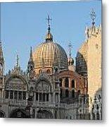 Basilica San Marco Metal Print by Bernard Jaubert