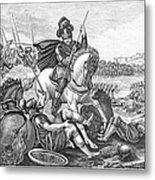 Battle Of Agincourt, 1415 Metal Print