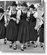 Bavarian Girls Metal Print