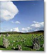 Beaghmore Stone Circles, Co. Tyrone Metal Print