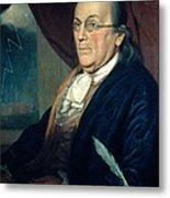 Benjamin Franklin, American Polymath Metal Print