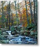 Big Hunting Creek Upstream From Cunningham Falls Metal Print