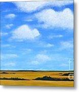 Big Sky Prairie Metal Print by Holly Donohoe