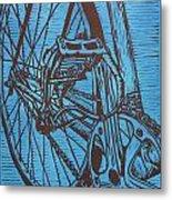 Bike 3 Metal Print by William Cauthern