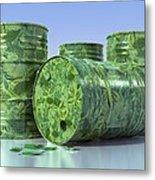 Biodiesel, Conceptual Artwork Metal Print