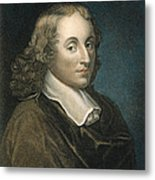 Blaise Pascal (1623-1662) Metal Print