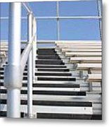 Bleachers Metal Print