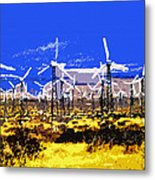 Blowing In The Wind Metal Print by David Lee Thompson