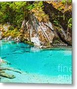 Blue Pools Metal Print by MotHaiBaPhoto Prints