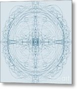 Blueprint Metal Print