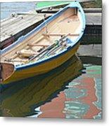 Boats Of Boston Harbor Metal Print