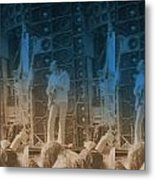 Bob Weir Grateful Dead 74 Dsm Ia Metal Print