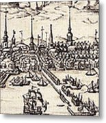 Boston, 1743 Metal Print