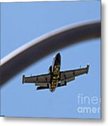 Breitling In The Air 10 Metal Print