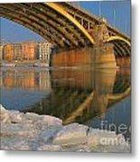 Bridge Metal Print by Odon Czintos