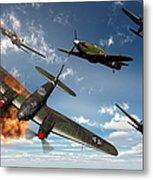 British Hawker Hurricane Aircraft Metal Print