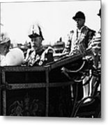 British Royal Family. In Coach British Metal Print