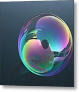 Bubble Jewel Metal Print
