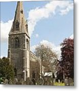 Building Church St Peters North Rauceby Linconshire Metal Print