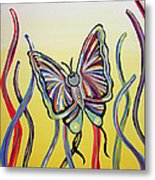Butterfly Dream Metal Print