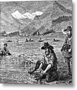 California Gold Rush Metal Print by Granger