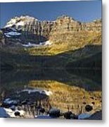 Cameron Lake, Waterton, Alberta, Canada Metal Print