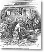 Camp Meeting, 1852 Metal Print
