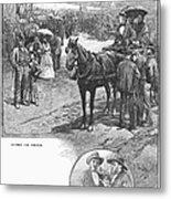 Canada: Church, 1883 Metal Print