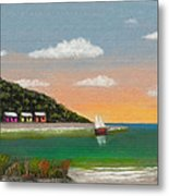 Canary Cove Metal Print
