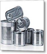 Canned Food Metal Print
