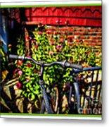Cape Cod Bike Metal Print