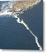Cape Point, The Dividing Point Metal Print